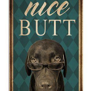 Dog labrador nice butt poster