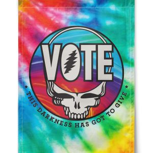 Grafeful Dead Vote this darkness has got to give flag
