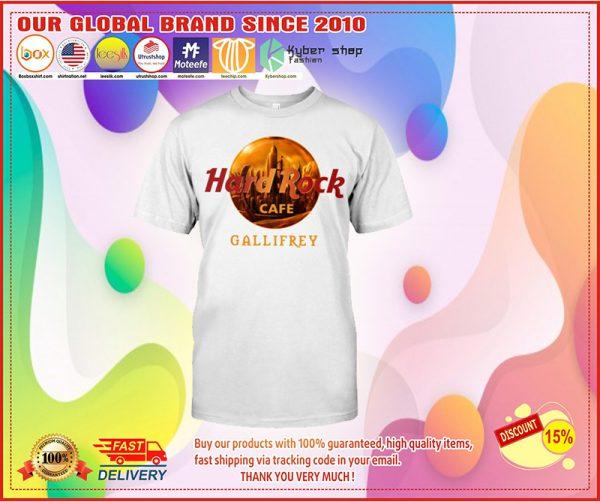 Hard Rock cafe gallifrey shirt
