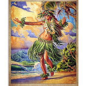 Hula and she lived happily ever after poster