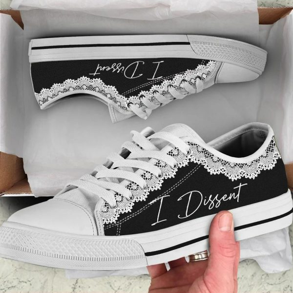 I dissent low top shoes
