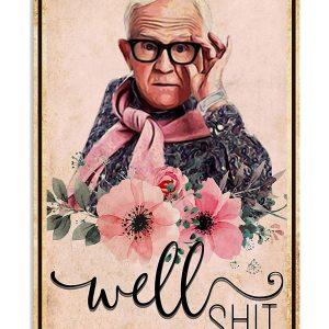 Leslie Jordan well shit poster, wallpaper