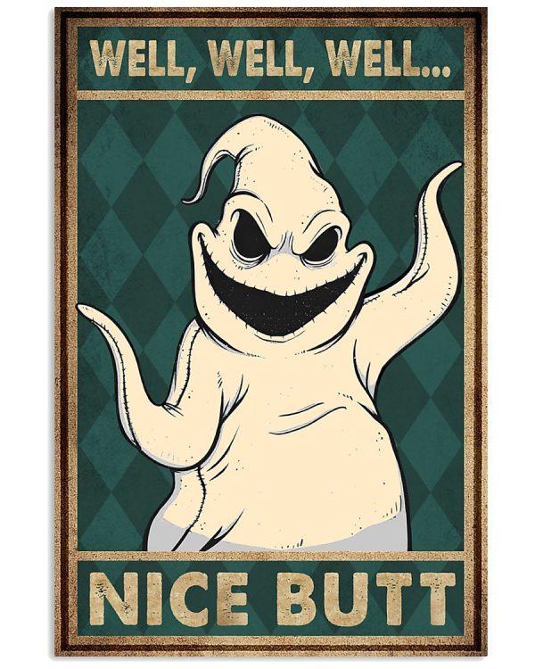 Oogie boogie well well nice butt poster