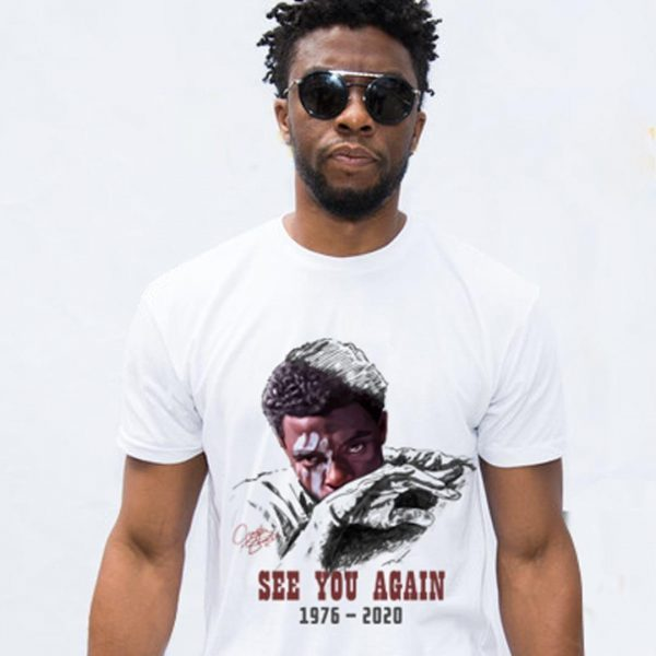 See you again Wakanda 1976-2020 shirt