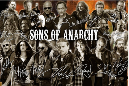 Son of Anarchy Signatures poster