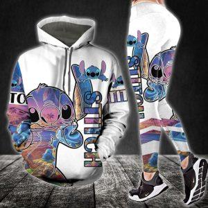 Stitch hoodie and legging
