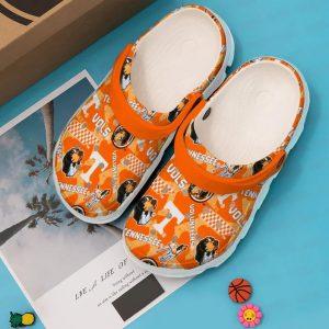 Tennessee Volunteers football crocband crocs shoes