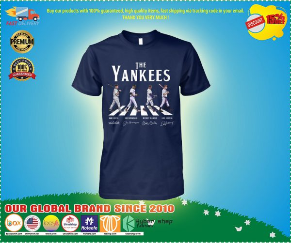 The yankees abbey road shirt