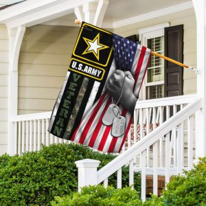 United States Army Veteran America Flag