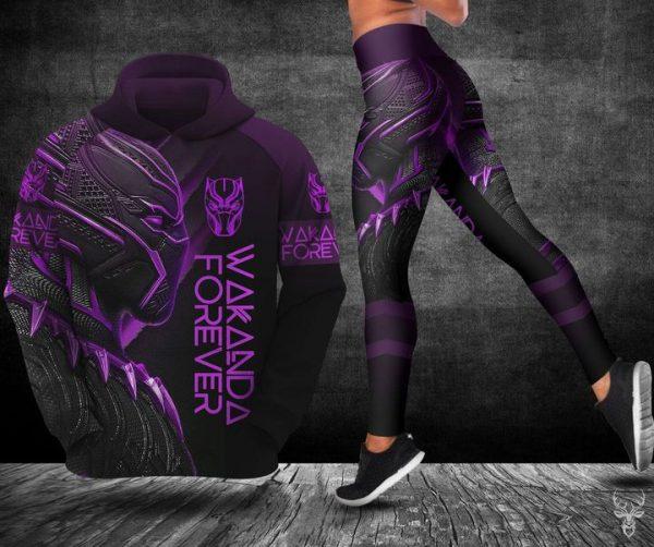 Wakanda forever hoodie and legging