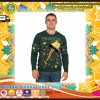 A Christmas Story Fragile Leg Lamp Light Up Ugly Christmas Sweater