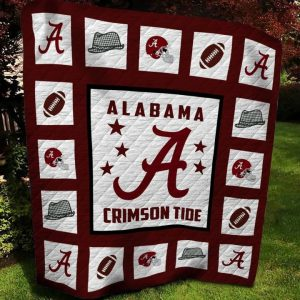 Alabama Crimison tide QUILT