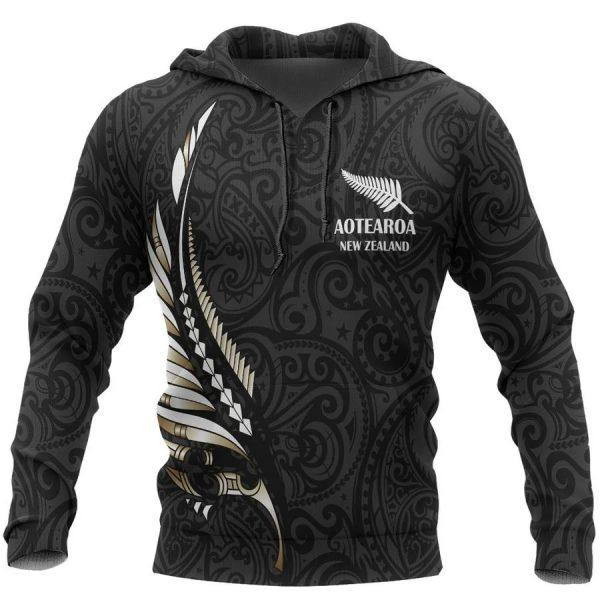 Aotearoa new zealand 3d hoodie