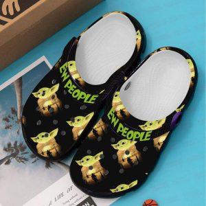 Baby Yoda ew people croc shoes crocband clog