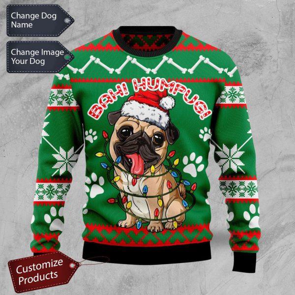 Bah humpug ugly Christmas sweater