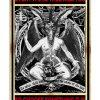 Baphomet Satan everything will kill you so choose something fun poster
