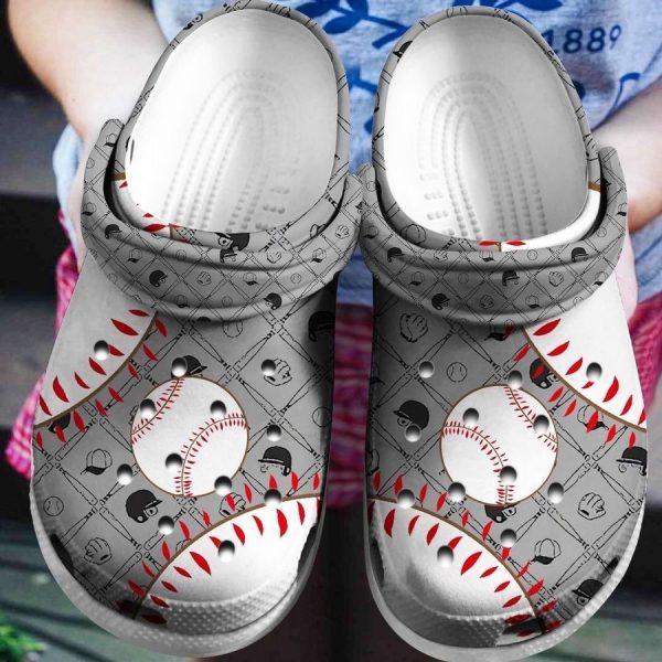 Baseball CROCS Crocband
