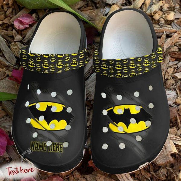 Batman crocs shoes crocband