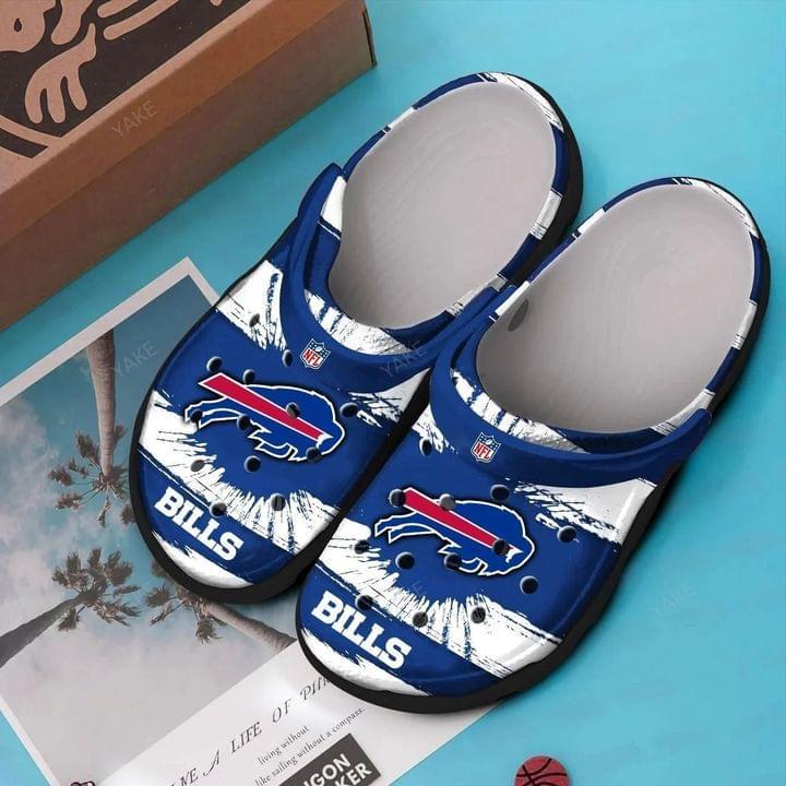 Buffalo Bills croc shoes crocband