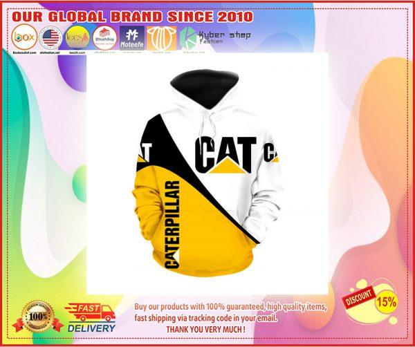 Caterpillar 3d full print hoodie