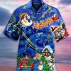 Christmas Sky hawaiian shirt