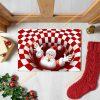 Christmas santa Clause 3D Illusion Doormat