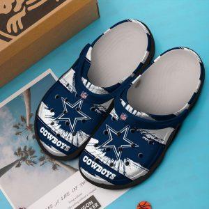Dallas Cowboys NFL crocs shoes crocband