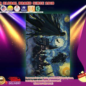 Dementor of Azkaban Harry Potter starry night Van Gogh poster