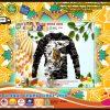 Dinosaur art 3D all over printed hoodie
