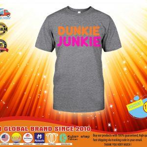 Donkin Donut Dunkie junkie shirt, hoodie