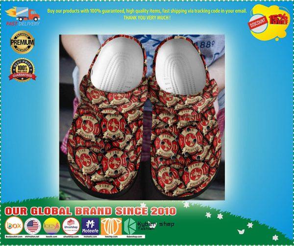 FireFighter croc shoes crocband