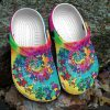 Grateful dead bear CROCS Crocband