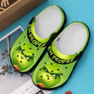 Grinch ew people croc shoes crocband clog