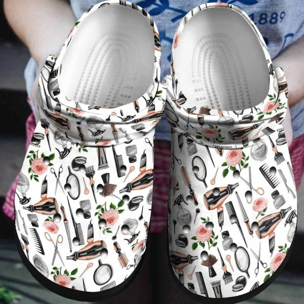 Hairstylist crocs shoes crocband