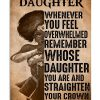 Heroine my dear daughter whenever you feel overwhelmed poster