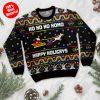 Ho Ho Ho Homo Happy Holigays With Santa And Unicorn Ugly Sweater