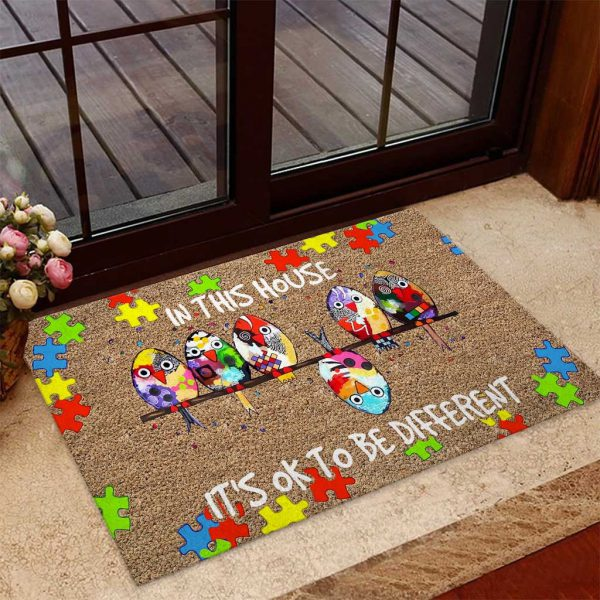 In this house it's ok to be different doormat