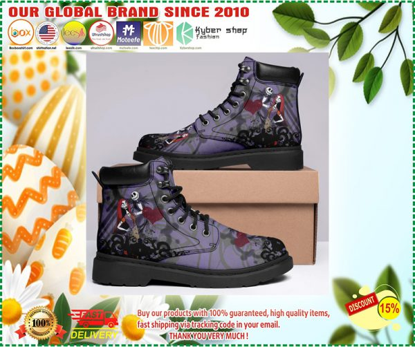 Jack skellington and Sally timberland boots