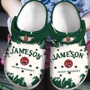 Jameson Irish whiskey crocs shoes crocband