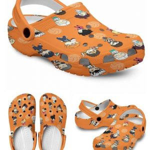 Karasuno crocs shoes crocband