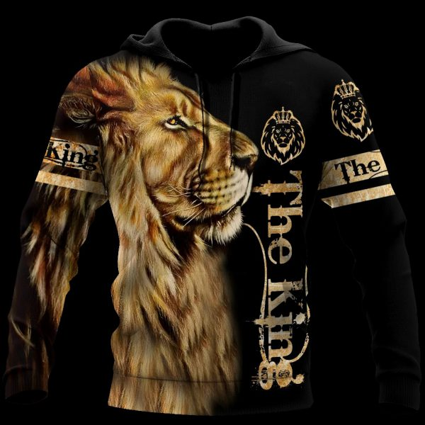 Lion King the king 3d hoodie