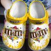 M&M's croc shoes crocband clog
