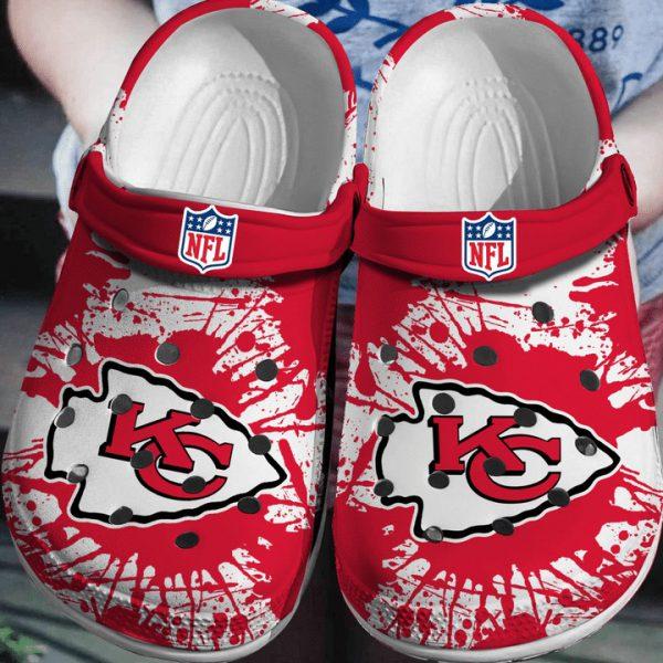 NFL Kansas Chief city crocs shoes crocband