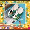 NSU spartans custom name croc shoes croband