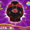 Naruto Akatsuki Pride pullover hoodie