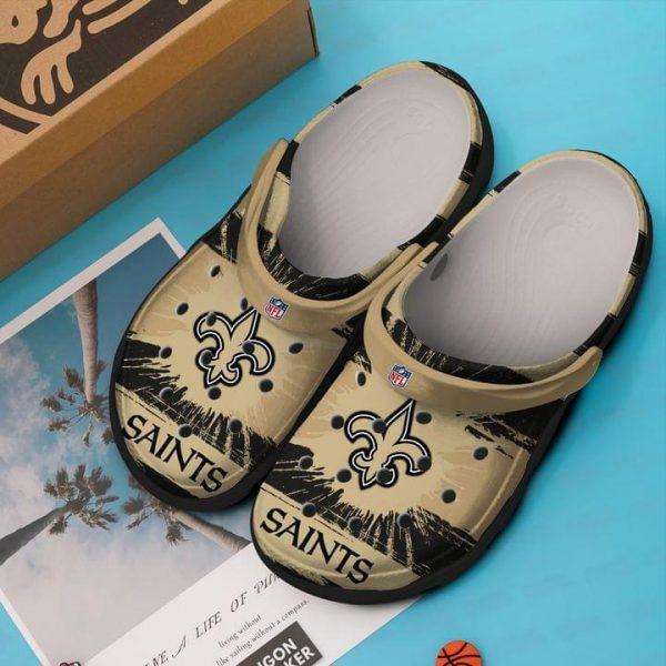 New Orleans Saints NFL crocs shoes crocband