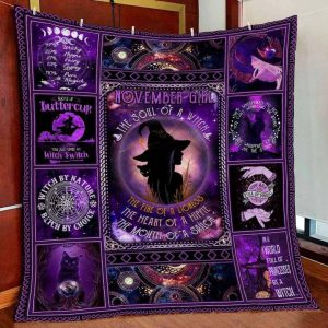 November girl the soul of witch the fire of lioness QUILT