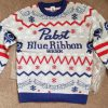 Pabst blue ribbon christmas ugly sweater