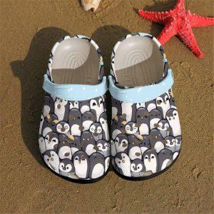 Penguins crocs shoes crocband