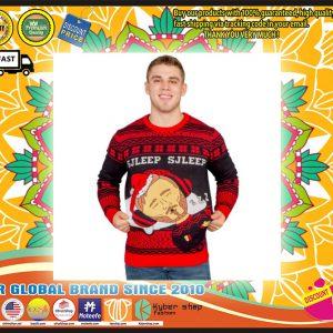 PewDiePie Sjleep Sjleep Ugly Christmas Sweater